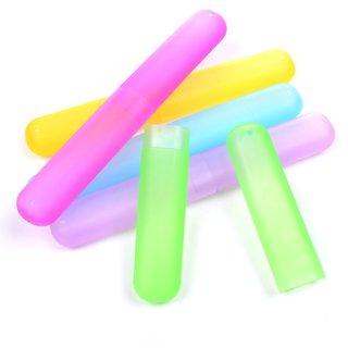 S4D Plastic Bathroom Toothbrush Holder Pack of 4 Assorted