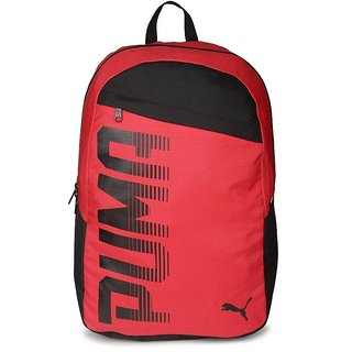 Puma Pioneer Backpack I 20.92 L Laptop Backpack  (Red)