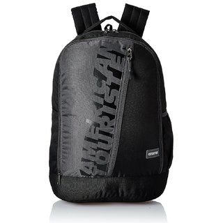 American Tourister 28 Ltrs Casual Backpack (Black)