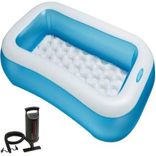 Aadoo 5 Feet Ractangular Intex Pool Tub with pump