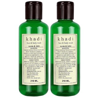 Khadi Neem  Tulsi Body wash 630ml