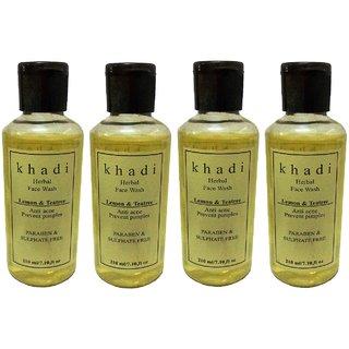 Khadi Lemon  Teatree Face wash (Paraben  Sulphate Free) 840ml