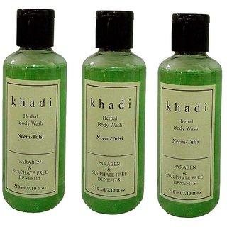 Khadi Neem  Tulsi (paraben  sulphate  Free) Body wash 630ml