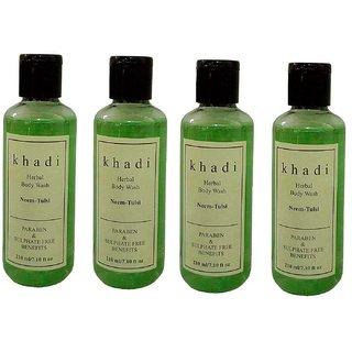 Khadi Neem  Tulsi (paraben  sulphate  Free) Body wash 840ml