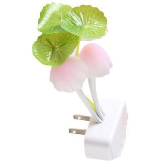 Skycandle Plug N Play Night Lamp (  Flower Pot Shape ) With Night Sensor Pack Of 2