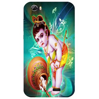 Back Cover for Videocon Krypton 22 Plus (Multicolor,flexible,Case)