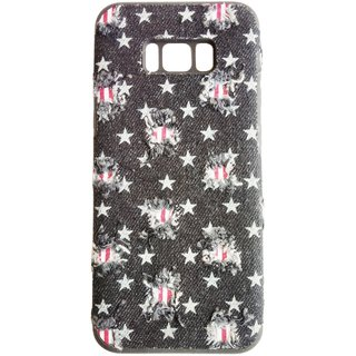 3F Mobile phone cover TPU+ jean fabric case For Samsung Galaxy S8 Plus