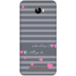 Back Cover for Intex Elyt Dual