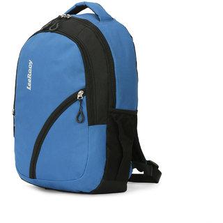 LeeRooy Canvas 21 Ltr Blue Smart Bag Backpack For Women