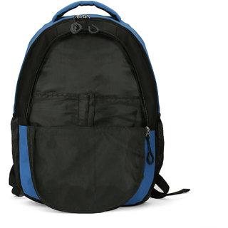 LeeRooy Nylon 21 Ltr Blue Handmade Bag Backpack For Women