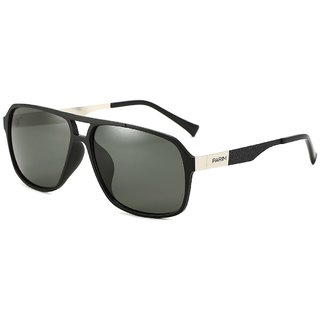 44cb21a4ae Buy Parim Grey Polarized Aviator Men Sunglasses Online   ₹1950 from ...