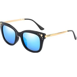 bfd9a725a4 Buy Parim Blue Polarized Cat-Eye Women Sunglasses Online - Get 0% Off