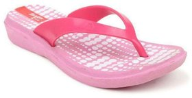 Bata Pink Daily Slippers For Women