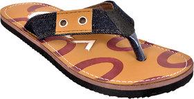 Ajeraa Comfort Brown Color Flip Flops For Men