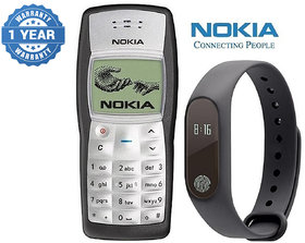 Nokia 1100 / Good Condition/ Certified Pre Owned (1 Year Warranty) with M2 Smart Bracelet