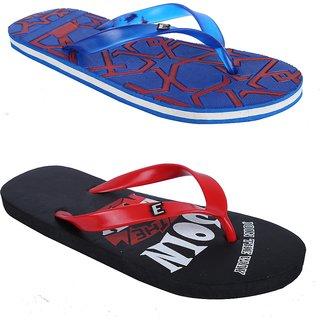 Edee Mens 2 Pair Of Hawai Slippers
