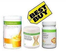 Herbal life Formula 1 Mango Shake  Protein And Afresh Lemon !