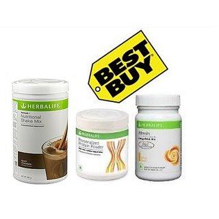 Herbal life F 1 Chocolate F 3 Protein Powder And Afresh Lemon