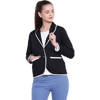 Texco Woman Black Winter Blazer
