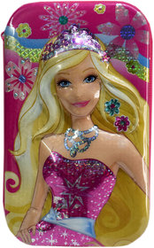 6th Dimensions Barbie 3D Magical Pencil Box (Pink)
