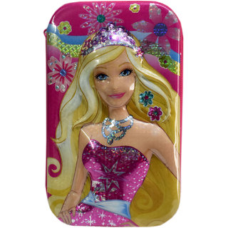 6th Dimensions Barbie 3D Magical Pencil Box (Pink)