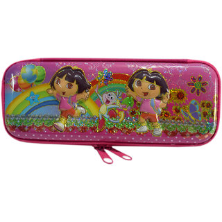 6th dimensions Dora Magical Pencil Box (Pink)