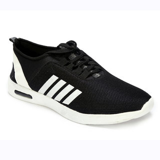 4e7bbe0cf305 Buy VJMAX Men s Black Mesh Lace Up Sports Shoes Online   ₹999 from ...