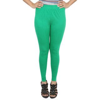 Himani Cotton P. Green Lycra Woman's Legging