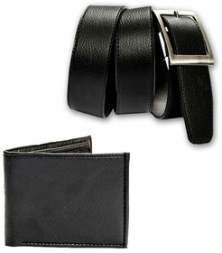 belt and wallet combo synthetic leather