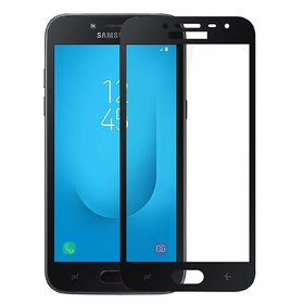 Adwotiz 5D Tempered Glass Samsung J2 Pro 2018 (Black)