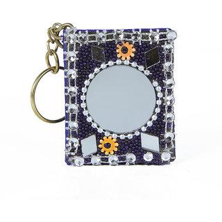 Hbn Rajasthani Handmade Diary Keychain  Nevi Blue