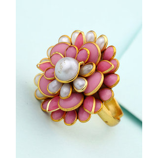 Voylla Pacchi Colorful Ring For Women For Women