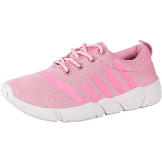 DRUNKEN Womens Sports Mesh Pink Running Shoes Football Shoes Cricket Shoes Basketball Shoes Badminton Shoes Walking Shoes Tennis Shoes