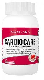 Maxgars Cardio Care Healthy Heart Support 60 Veg Capsules
