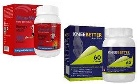 MensMulti Mens Mutivitamin  KneeBetter Joint Support Combo for Men Health