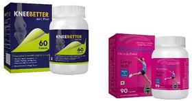 WomensMulti Womens Mutivitamin  KneeBetter Joint Support Combo for Women Health