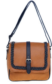 Lady queenMulticolour  Faux Leather sling