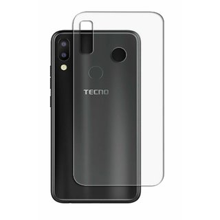 BK Transparent Soft Back Cover For Tecno Camon iAir 2 Plus