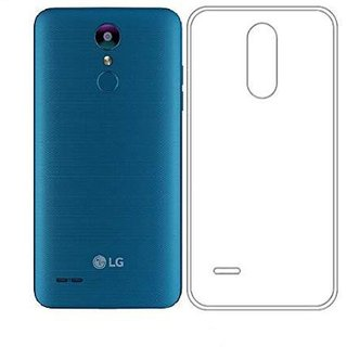 uk availability 23ea4 d7dfb Transparent Soft Back Cover For LG K9