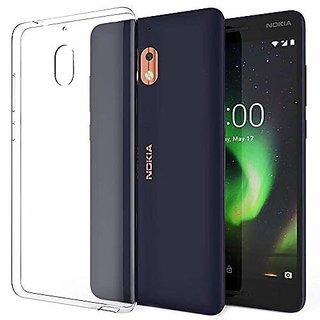 Back Cover For Nokia 2.1  (Soft Transparent)