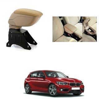 KunjZone Premium Quality Car Arm Rest Console Beige for BMW 320D