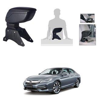 KunjZone Premium Quality Car Arm Rest Console Black for Honda Accord