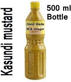 Kasundi Mustard Sauce--Made by W.B Villager- 500 ml bottle