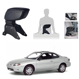 KunjZone Premium Quality Car Arm Rest Console Black for Ford Escort