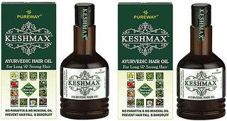 Keshmax Ayurvedic Medicinal Oil (Pack of 2)