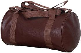 Dee Mannequin Vintage Leatherite Gym Bag