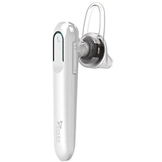 Syska LB300 Bluetooth Headset (Black and White)