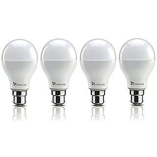 Syska LED SSK-SRL-5W Bulbs Cool Day Light - Pack of 4