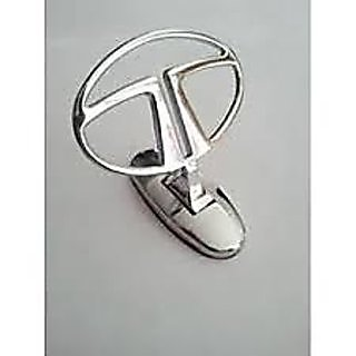 Car Auto Hood Bonnet Ornament Chrome Emblem for Tata