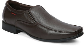 Red Chief Brown Formal Slip On Shoes For Men (PF8009 00